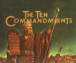 10 Commandments booklet cover-1956