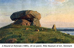A Mound at Refsnaes, 1885