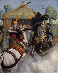 Boys King Arthur - N. C. Wyeth - p246