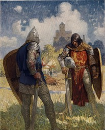 Boys King Arthur - N. C. Wyeth - p38
