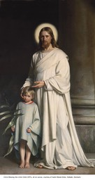 Christ Blessing the Little Child, 1873