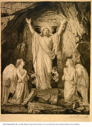 Christ's Resurrection, etching, 1881