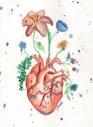 jennaleewatercolorheartflowers
